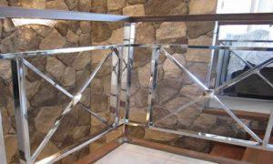 Corrimão de aço inox - Área residencial