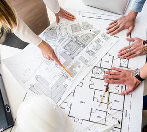 Parceria com escritórios de Arquitetura e Engenharia